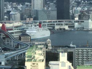 神戸国際交流会館(空撮①)|Vフロン#200スマイルRBシルバーメタリック