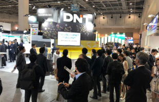 DNTブースの賑わい@高機能塗料展|DNT