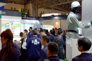 DNTブースの賑わい|高機能塗料展(東京)@DNT